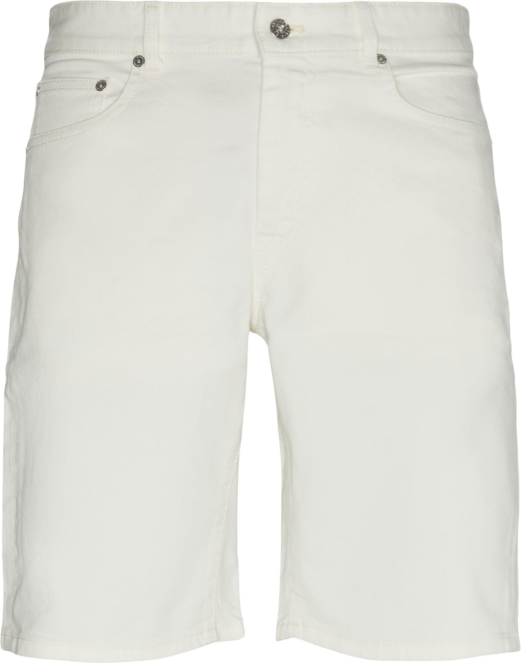 Shorts - Slim fit - Vit